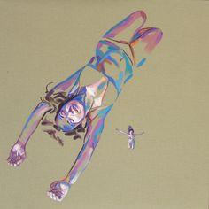 "Saatchi Online Artist Cristina Troufa; Painting, """"Free#6"""" #art"