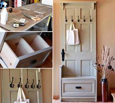 Door Entryway Bench Ideas You'll Love