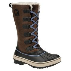 Sorel Womens Tivoli High Boot Dark Brown