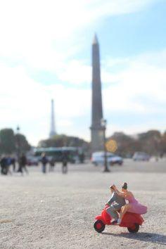 Miniature People - Paris