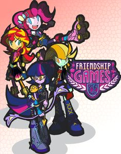Equestria Girls: Friendship Games by rvceric on DeviantArt Friendship Games, Girl Friendship, My Little Pony Friendship, Mlp Characters, Equestrian Girls, Solo Pics, Imagenes My Little Pony, Mlp Pony, Mlp My Little Pony