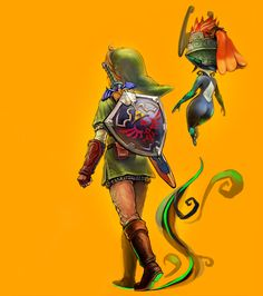 The Legend of Zelda: Twilight Princess / Link and Midna / 「ゼルダの伝説まとめ」/「梟」の漫画 [pixiv] [01]
