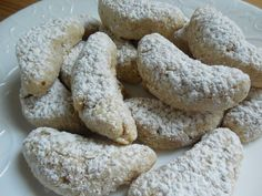 Weight watcher recipes Lightened up almond crescent cookies by drizzle me skinny