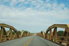 """Canadian River Bridge"" in Bridgeport Oklahoma  http://route66jp.info Route 66…"