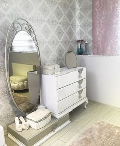 Architect couple designed their own, convenient and stylish houses . Bedroom Furniture Sets, Bed Furniture, Home Decor Furniture, Furniture Design, Bedroom Decor, Simple Bedroom Design, Bedroom Closet Design, Home Room Design, Modern Dressing Table Designs