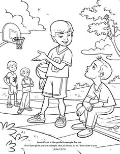 Kindness Coloring Page | Fruits of the Spirit - Kindness ...
