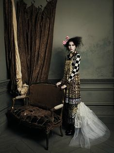 """No info on the clothes __ """"Royal Academy"""" shoot from magazine Bullett (Spring 2012), model: Ali Michael, photographer: Kevin Mackintosh"""
