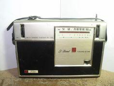 Vintage Toshiba 8L-420R 2 Band 8 Transistor Radio - Parts / Repair | eBay