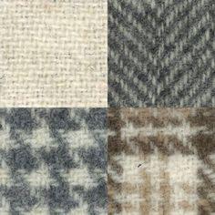 Wool Gatherings 4 Fat Quarter Primitive Gatherings Solid Ecru Cream Wool Fabric #ModaFabrics