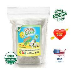 Shredded Coconut Unsweetened, 1 lb, Organic Fine Shred w/ Recipe E-Cookbook USDA Approved USA Coconut Sugar, Coconut Flour, Make Ice Cream, Coconut Recipes, Shredded Coconut, How To Increase Energy, Coconut Flakes, Sugar Free, Keto