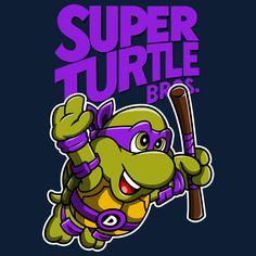Super Turtle Bros - Donnie