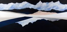 66NorthMidnight300dpi- Dreamy Landscape by Sarah Winkler