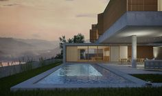 CASA NA QUINTA by Santiago & Torres arquitetos, via Behance