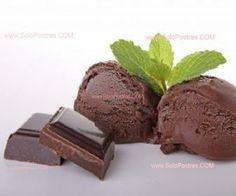 helado de chocolate light