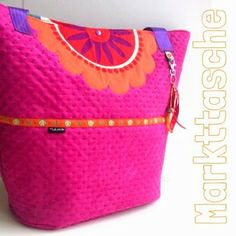 Markttasche by LaLexi, pattern by farbenmix.de #taschenspieler2 #taschen #bags #sewing #nähen