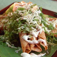 Ymmy! Flautas de Pollo #mexican #food