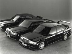 Mercedes 190E. Love this damn classic! Mafia style