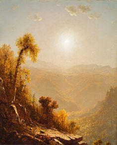 October in the Catskills | Sanford Robinson Gifford