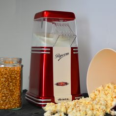 Ariete Party Time Pop Corn Popper 2952. Review by Revyou.gr