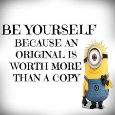 funny minions quotes and pictures Wisdom Quotes, Quotes To Live By, Me Quotes, Funny Quotes, Copy Cat Quotes, The Words, Citation Minion, Great Quotes, Inspirational Quotes
