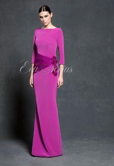 Vestido de fiesta de Vicky Martín Berrocal colección 2016 modelo 403. #vestido #dress #boda #bridal #fashion #madrina #tienda #madrid