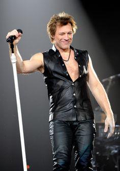 Jon Bon Jovi performs at the MGM Grand Garden Arena March 19, 2011 in Las Vegas, Nevada.