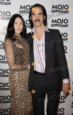 Nick Cave, Susie Bick Photo - London UK  Nick Cave  with wife Susie Bick  at the  Mojo Honours List Awards held at Old Truman Brewery,  Lond...