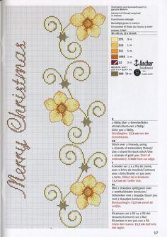 Cross Stitch Bookmarks, Cross Stitch Borders, Cross Stitch Flowers, Cross Stitch Designs, Cross Stitch Embroidery, Hand Embroidery, Cross Stitch Patterns, Embroidery Designs, Peyote Beading Patterns