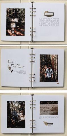 Gifts For Boyfriend - Valentine's Day Gift Ideas For Him Sevgililer Günü İçin Ne Hediye Alsam . Album Journal, Scrapbook Journal, Photo Journal, Bullet Journal, Diy Album Photo, Photo Book, Wedding Photo Albums, Wedding Album, Wedding Photos
