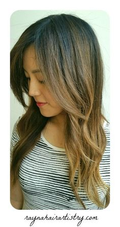 Specializing in Balayage for over 10 years. Call 310-954-0994 and book your appointment today! #raynahairartistry #weho #salon #hollywood #hairsalon #balayage