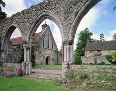 Beaulieu Abbey, New Forest, Hampshire, founded in 1203–1204 by King John