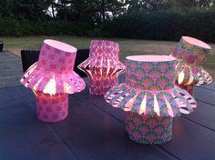 Bellas bedrifter: Lanterner i papir...