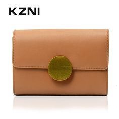 KZNI Genuine Leather Bags Bags for Girls Shoulder Bag Women Leather Handbags Designer Handbags High Quality Bolsas Feminina 9005