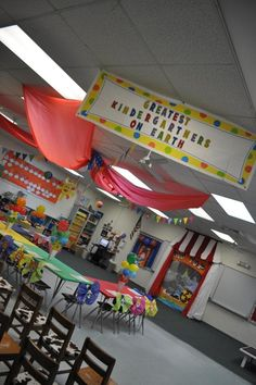 kindergarten theme classrooms, carnival | 2012 Circus Themed Kindergarten Graduation Party | Kindergarten