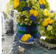 Please Help! Need inspiration for my royal blue and yellow wedding - Weddingbee
