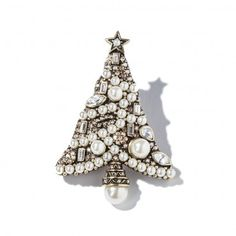 """Deco the Halls"" Christmas Tree Pin - Christmas in July - Sale - Tuesday's Treasures 