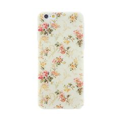 CaseBee® Flower Series - Pretty Floral Flowers Print iPhone 6 (4.7) Case - Perfect Gift (Package includes Screen Protector) (Rose on Yellowish Background) CaseBee http://www.amazon.com/dp/B00UPZPBV8/ref=cm_sw_r_pi_dp_xs6pvb0GMP5WJ