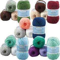 Herrschners® Worsted 8 Home Decor Value Yarn Pack