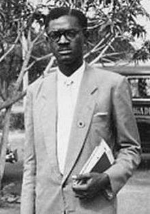 Patrice Lumumba (1925-1961), kongolesischer Freiheitskämpfer und Staatsmann