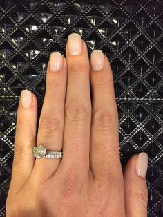 Vina Nail Spa - Just the way I like it. Acrylic nails that are thin and look natural. :) - Saint Augustine, FL, United States