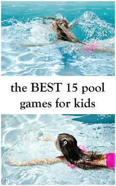 the BEST 15 pool games for kids - in the know mom #ad