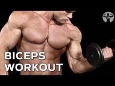 Biceps Workout: Brutal Drop Set Workout for Bigger Biceps - YouTube