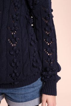 cool knit detail