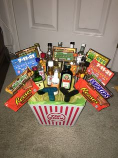 Birthday Gift Basket For Guys
