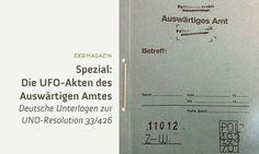 Die UFO-Akten des Auswärtigen Amtes - Robert Fleischer über deutsche Unterlagen zur UNO-Resolution 33/426 (Clip)
