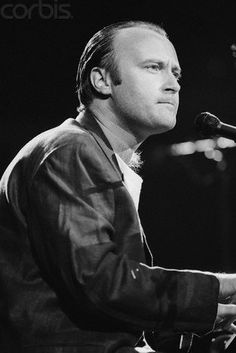 And while I'm pinning amazing artists right now I have to add Phil Collins to the list of my faves