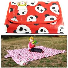 Amazon.com: KF Baby Feeding & Play Mat - Panda Jackie (68 x 61 inch): Baby