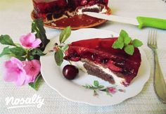 Meggyzselés-túrós csokoládétorta   Nosalty Pie, Desserts, Food, Torte, Tailgate Desserts, Cake, Deserts, Fruit Cakes, Essen