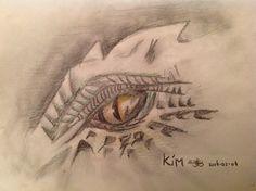 Tekening 10 (draken oog)