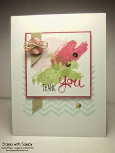Stamp With Sandy: Work of Art Sneak Peak, Stampin' Up